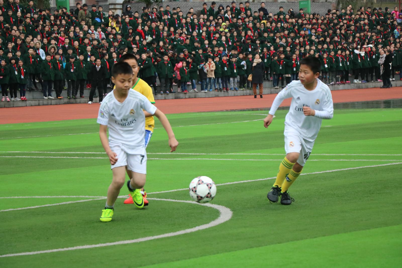 璧山实验小学第四届班级足球联赛开赛