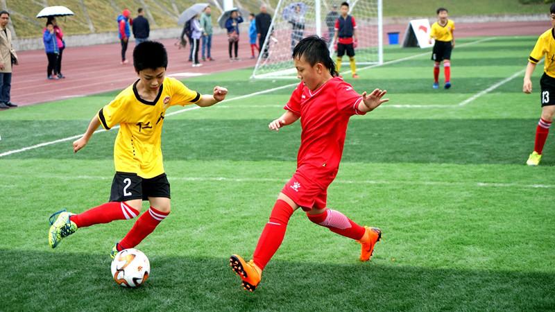 助力重庆少年足球,健力宝少年足球赛直通俄罗斯世界杯。