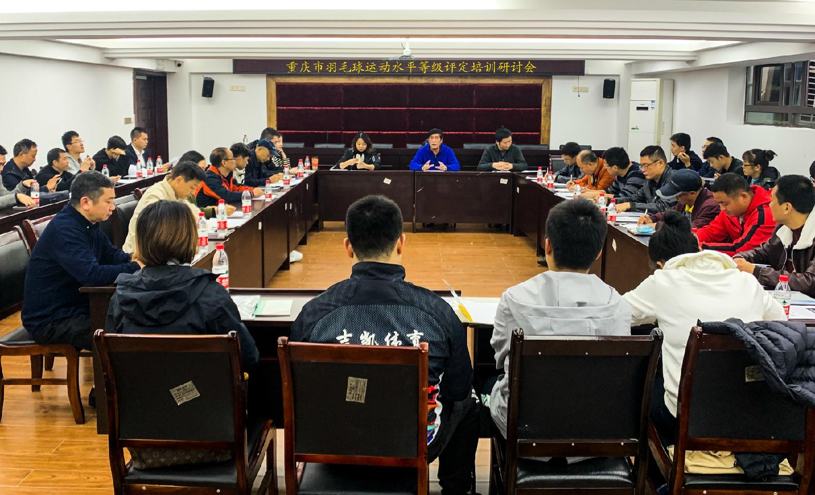 重庆市羽毛球运动水平等级评定培训研讨会在大田湾圆满举行